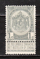 53**  Armoiries - Bonne Valeur - MNH** - COB 2 - Vendu à 13.50% Du COB!!!! - 1893-1907 Armoiries