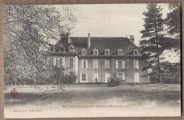 CPA 26 - HAUTERIVES - Château D' Hauterives - TB PLAN EDIFICE Et Sa Façade - Hauterives