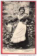 CPA 23 TYPES CREUSOIS  Femme Je Vais  Chercher De L'eau Avec Mon Bidon - Non Classés