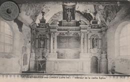 44 -Très Belle Carte Postale Ancienne De SAINT SULPICE DES LANDES  Intérieur De L'Eglise - Other Municipalities