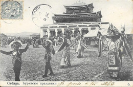 003791 - RUSSIA - REGIONS - SIBERIA. BURIAT CELEBRATION - 1904 - Russland