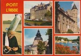 29 PONT L'ABBE Château Des Barons Du Pont, église Des Carmes, Port ; Voitures, Fleurs, Canots, Bigoudène 5 Vues - Animée - Pont L'Abbe