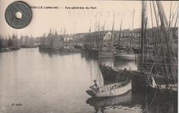 44 -Très Belle Carte Postale Ancienne De  LA TURBALLE  Le Port - La Turballe
