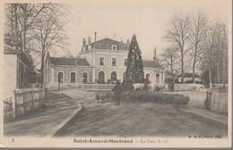 SAINT AMAND MONTROND  - LA GARE - Saint-Amand-Montrond