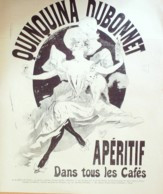 DESSIN-CHERET JULES-DUBONNET QUINQUINA-1889-D192 - Supplies And Equipment