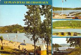 19 - Le Plan D'eau De Chasteaux - Multivues - Non Classés