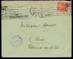 A6970) DR Ortsdienstbrief V. Bremen 16.08.22 M. EF Mi.30 - Oficial