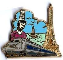 TGV ATLANTIQUE - A52 - PARIS - BRETAGNE - Verso : BALLARD COLLECTION - TGV