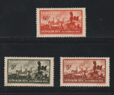 Sarre - YT N° 162 à 164 Neufs Sans Gomme (cote N*=130 Euros) - Unused Stamps