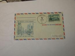 USA  First Flight Cover To Italy  Chicago - Rome 1957 - Sin Clasificación