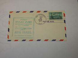 USA  First Flight Cover To  United Kingdom San Francisco - London 1959 - Sin Clasificación