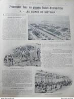 1900 USINES AUTOMOBILE DE DIETRICH LUNÉVILLE - PELOTE BASQUE - GRAND PRIX CYCLISTE - LES JEUX OLYMPIQUES - O'GALOP - Other