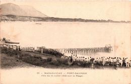 Madagascar - Fort-dauphin - Plage - Fête Du 14 Juillet 1903 - Madagaskar