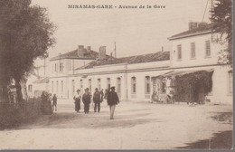 MIRAMAS - AVENUE DE LA GARE - Estación, Belle De Mai, Plombières