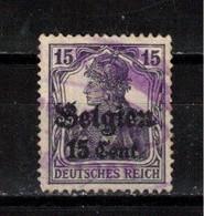 102Y * BELGIEN  16 * 1 FEINE WERTE * MICHEL 2,50 * GESTEMPELT **!! - Occupation 1914-18