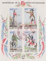 FRANCE 1989  Bloc-feuillet N°YT N°10 Bicentenaire De La Révolution Française PhilexFrance  Oblitéré - Oblitérés