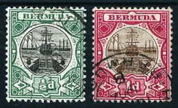 Bermudas (Británica) Nº 25/26 Usado - Bermudas