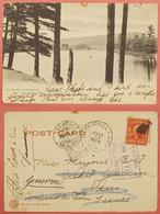 1905 Sacandaga Park River To Paris Via Venezia  Venise Spedizione ? Cancel  COOK Agency And Genève Some Edge Wear Nice - Briefe U. Dokumente