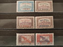 HONGRIE - 1918/1924 Poste Aérienne N°1 * - 3/5 * - 6 * - 11 * (voir Scan) - Ungebraucht
