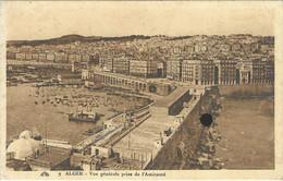 1926 / Semeuse 20 C Surcharge Algérie / Sur CPA Vue Générale Amirauté - Briefe U. Dokumente