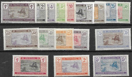Mauritanie Mint Most Very Low Hinged * Complete Set 1913 28 Euros - Non Classés
