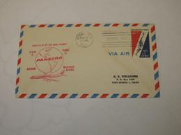 USA First Flight Cover To Argentina Miami - Buenos Aires 1960 - Sin Clasificación