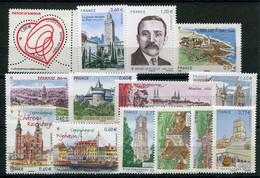 RC 20430 FRANCE 2012 LOT DE TIMBRES EN EURO A LA FACIALE NEUFS ** - Nuevos