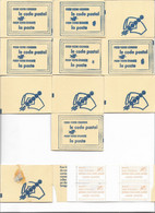 Lot De Carnets Code Postal, Cote 130 Euros, Voir Descriptif Et Photo - Collections