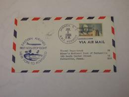 USA First Flight Cover To Mexico New York - Acapulco 1966 - Sin Clasificación
