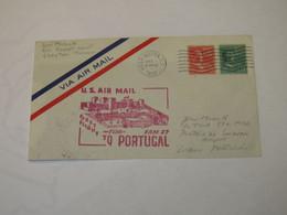 USA First Flight Cover To Portugal Washington - Lisbona 1946 - Sin Clasificación