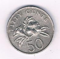 50 CENTS 1995 SINGAPORE /1608/ - Singapore