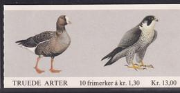 NORVEGIA 1981 UCCELLI BOOKLET LIBRETTO UNIF. L783  KR.13,00 MNH PERFETTO - Libretti