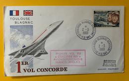 13287 - 1er Vol Du Concorde 001 Toulouse Blagnac 2.03.1969 - Concorde