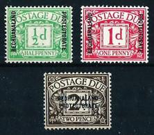 Bechuanaland (Británica) Nº Tasa-1/3* Cat.32€ - 1885-1964 Herrschaft Von Bechuanaland
