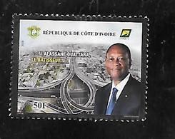 TIMBRE OBLITERE DE COTE D'IVOIRE DE 2020 - Costa De Marfil (1960-...)