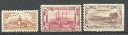 Turkey; 1920 London Printing Postage Stamps MH* - Nuevos
