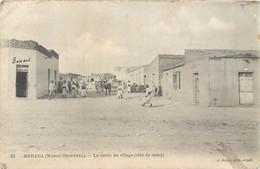 CPA Afrique > Maroc Oriental MERADA Le Sortie Du Village Côté Du Camp - Autres