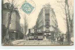 LE PERREUX - Avenue Ledru-Rollin Et Rue De La Station - Tramway - Le Perreux Sur Marne