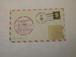 USA  First Flight Cover To Italy  New York - Rome 1970 - Sin Clasificación