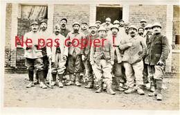 PHOTO FRANCAISE DU 322e RIT - LES PIONNIERS A FONTAINE LES CAPPY PRES CHUIGNES - FAY SOMME GUERRE 1914 1918 - 1914-18
