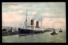 BATEAUX - PAQUEBOT CAMPANIA - Steamers