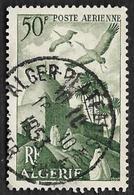 ALGERIE  1949 - PA 9 - Marabout - Oblitéré - Poste Aérienne