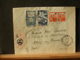 92463  LETTRE RECOMM. FRANCE   1948 - Briefe U. Dokumente