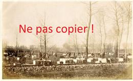 PHOTO FRANCAISE - DEPOT DE MUNITIONS DE FROISSY A LA NEUVILLE LES BRAY PRES DE CAPPY SOMME - GUERRE 1914 1918 - 1914-18