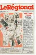 Le Régional - Meilleurs Voeux - 1986 - Cartes Tarot ..  ...   (121294) - Salon De Provence