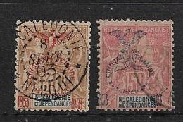 NCa15 -Nouvelle Calédonie N°76-78 Neuf Ou Oblitéré 2 Timbres CV + De 95,00 €uros - Ohne Zuordnung