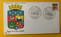 13299 - Blason De La Ville D'Oran Château De Blois Blois 21 Mai 1960 15 Octobre 1960 - Storia Postale