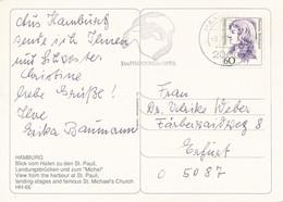 BRD / Bund Hannover MWST 1992 Musical Das Phantom Der Oper Mi. 1332 Frauen Erxleben - PK Nach Ostdeutschland (O-PLZ) - Cartas