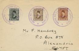 "EGYPT 1929 ""KHEDIVIAL MAIL S / S & GRAVING DOCK COMPANY LIMITED. / S / S RASHID"" - Briefe U. Dokumente"