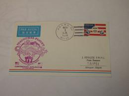 USA  First Flight Cover To Taiwan Agana - Taipei  1978 - Sin Clasificación